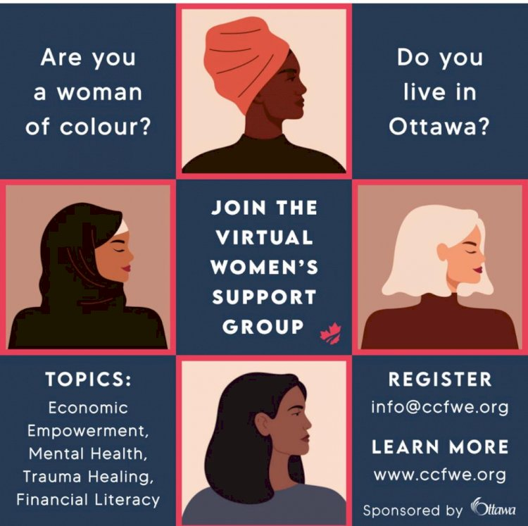 Join the African, Caribbean and Black (ACB)  Virtual Women's Support Group