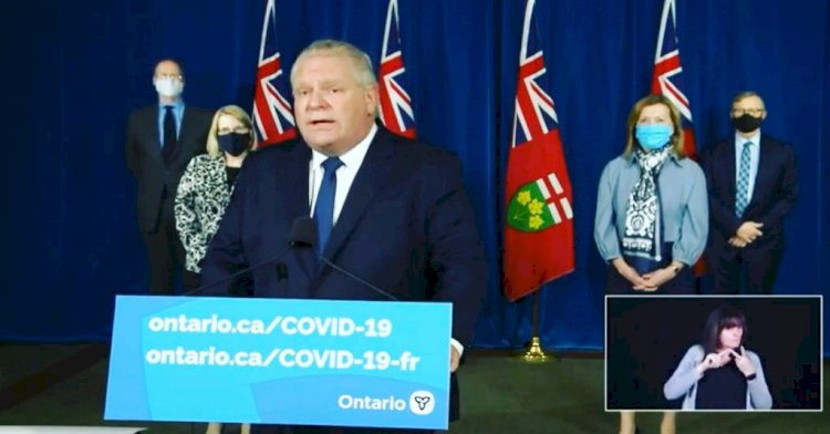 Ontario declares second stay-at-Home Order