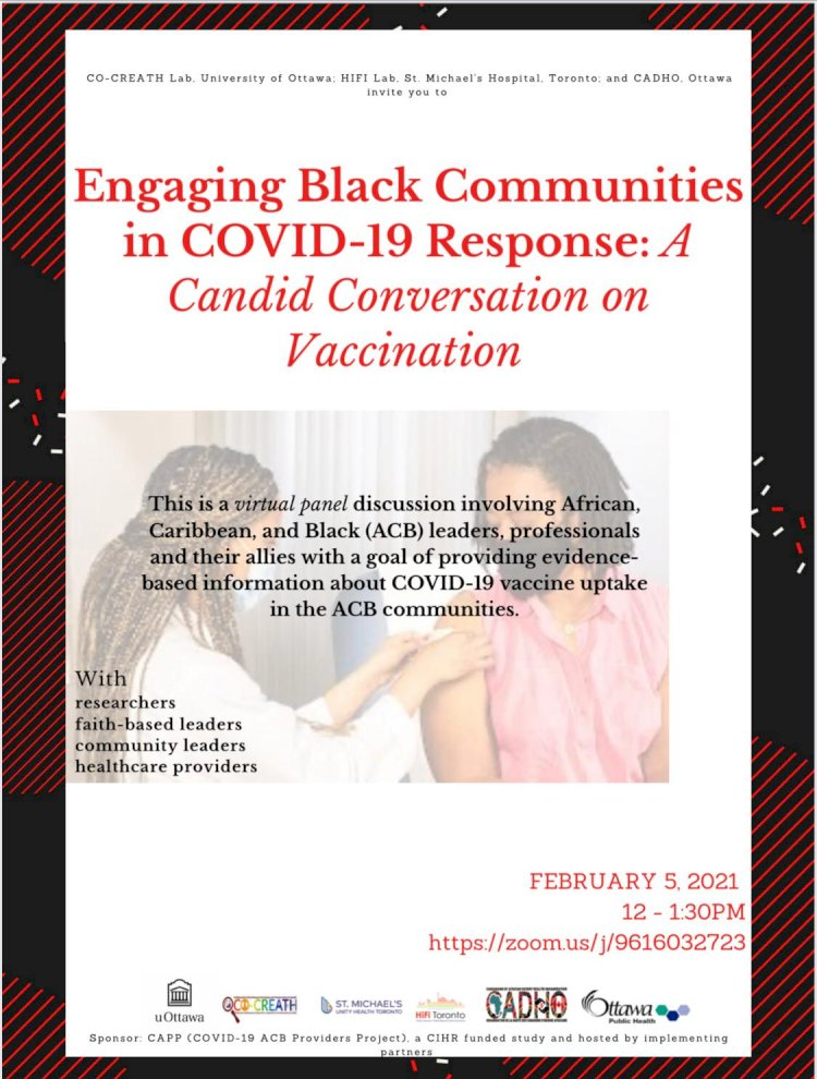 Engaging Black Communities in COVID-19 Response